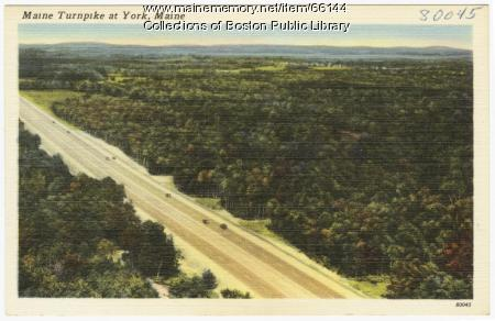 Maine Turnpike, York, ca. 1947