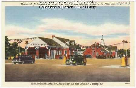 Turnpike service station, Kennebunk, ca. 1950
