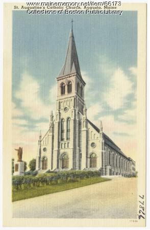 St. Augustine's Catholic Church, Augusta, ca. 1938