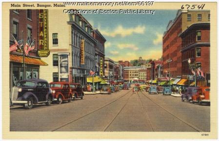 Main Street, Bangor, ca. 1938
