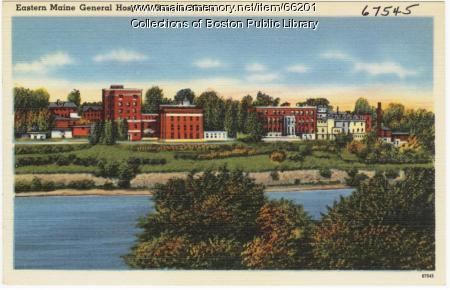 Eastern Maine General Hospital, Bangor, ca. 1935