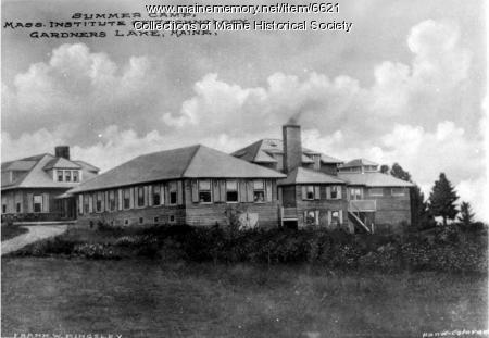 Summer camp of Massachusetts Institute of Technology, ca. 1900