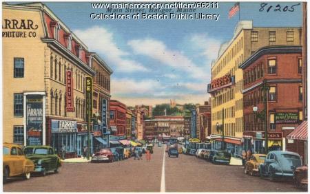 Main Street, Bangor, ca. 1935