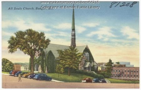 All Souls Church, Bangor, ca. 1935