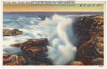 Thunder Hole, Acadia National Park, ca. 1935