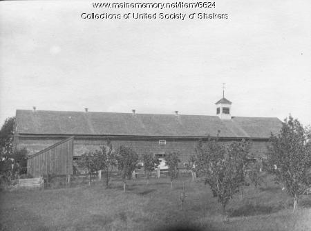 Cow Barn, Alfred Shakers, ca. 1905