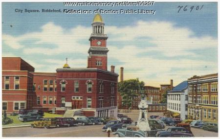 City Square, Biddeford, ca. 1940