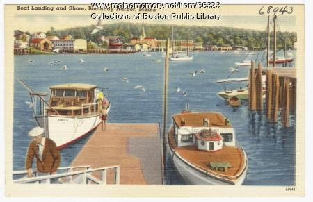 Boothbay Harbor, ca. 1938