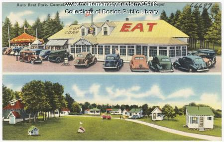 Rest stop, Carmel, ca. 1935