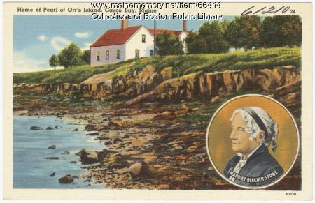 "Home of ""Pearl of Orr's Island,"" ca. 1935"