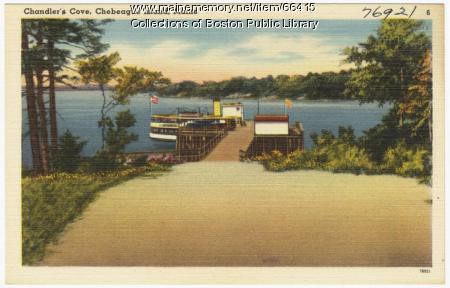 Chandler's Cove, Chebeague Island, ca. 1935
