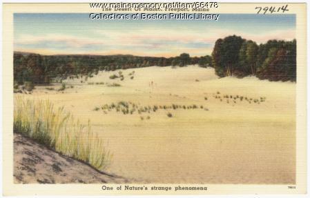 The Desert of Maine, Freeport, ca. 1938