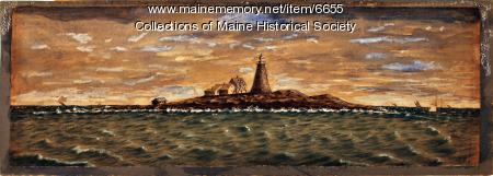 Mount Desert Rock lighthouse