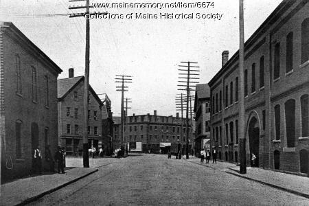 Gorham's Corner, Portland, ca. 1904