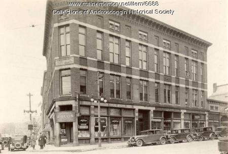 Goff Block, Auburn, 1920s
