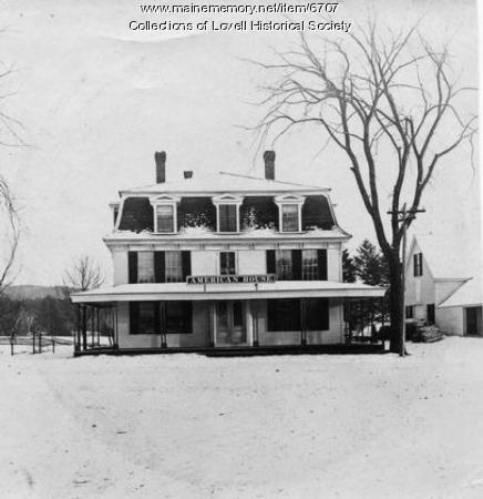 The American House, Lovell, ca. 1900