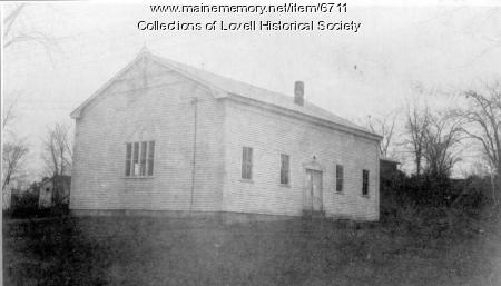 First Meeting House, Lovell, ca. 1939