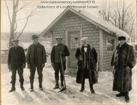 N.T. Fox Lumber employees, Lovell, ca. 1920