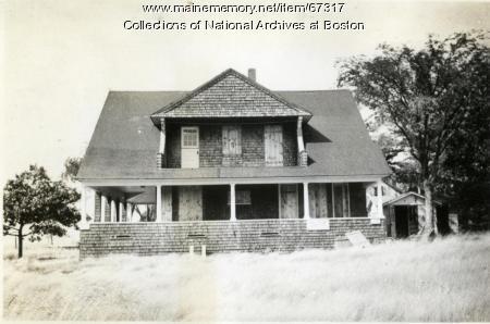 Recreation Building, Little Chebeague Island, 1947