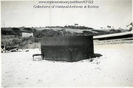 Oil tank, Little Chebeague Island, 1947