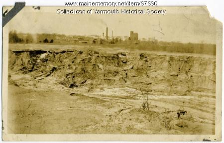 Black ash landfill, Yarmouth, ca. 1900