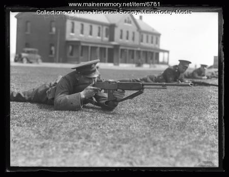 5th Infantry Marksmanship practice, 1927