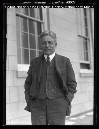 Congressman Clyde Smith, Portland, 1927