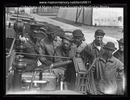 5th Infantry in Portland, 1927