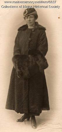 Ethel Bascome Jewett, London 1910 or 1912