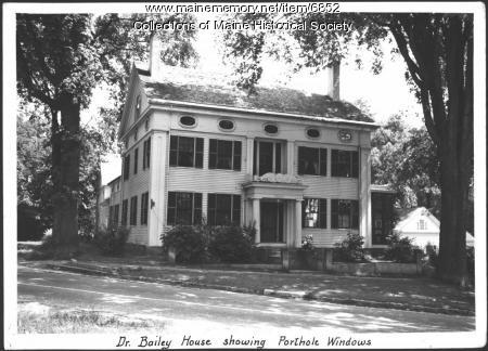 Bailey House, Wiscasset, ca. 1940