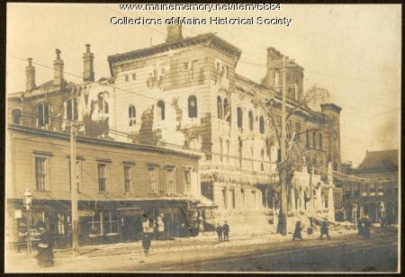 Portland City Hall, 1908