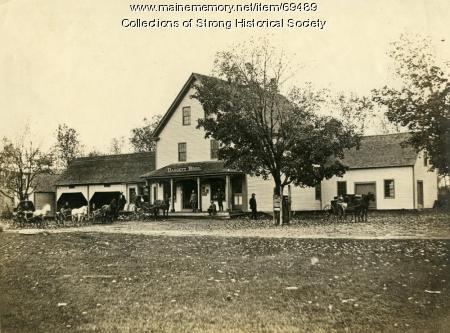 Daggett Bros. Store, Strong, ca. 1880