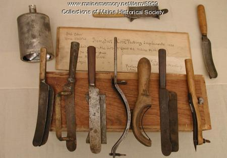 Corn knives, ca. 1858