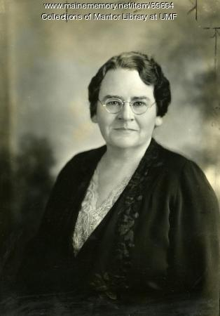 Helen Lockwood, Farmington State Normal School, ca. 1936
