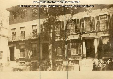 137 Park Street, Portland, 1924