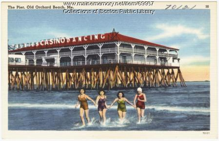 The pier, Old Orchard Beach, ca. 1938