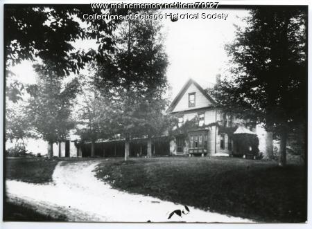 William Haley, Jr. farmhouse, Sebago, ca. 1890
