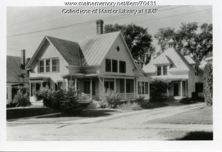 Home economics cottage, Farmington State Normal School, ca. 1940