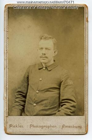 Charles W. Cole in Civil War uniform
