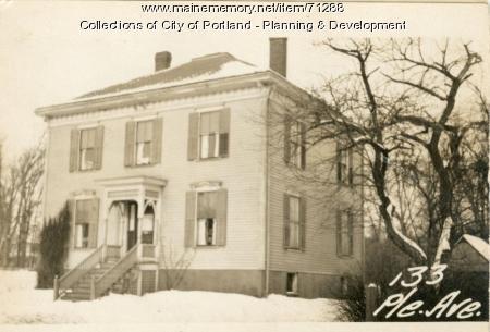 135 Pleasant Avenue, Portland, 1924