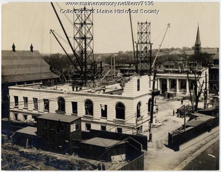 Building City Hall, April 29, 1910