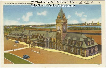 Union Station, Portland,  ca. 1938