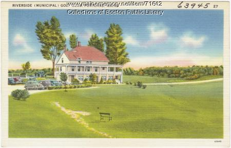 Riverside Golf Club, Portland, ca. 1938