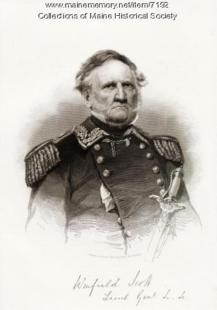 General Winfield Scott, 1786-1866