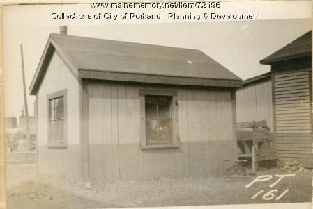 Car Inspectors Building, Preble Street Yard, Portland, 1924