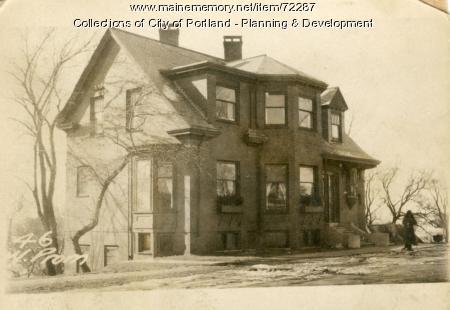 46 Western Promenade, Portland, 1924