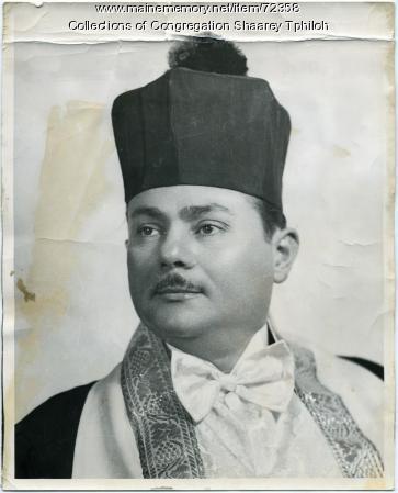 Cantor Moshe Kusevitsky, ca. 1954