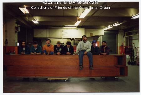 David Wallace, organ removal crew, Portland, 1995