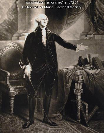 George Washington, ca. 1796