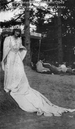 Edna St. Vincent Millay, Poughkeepsie, NY, 1915